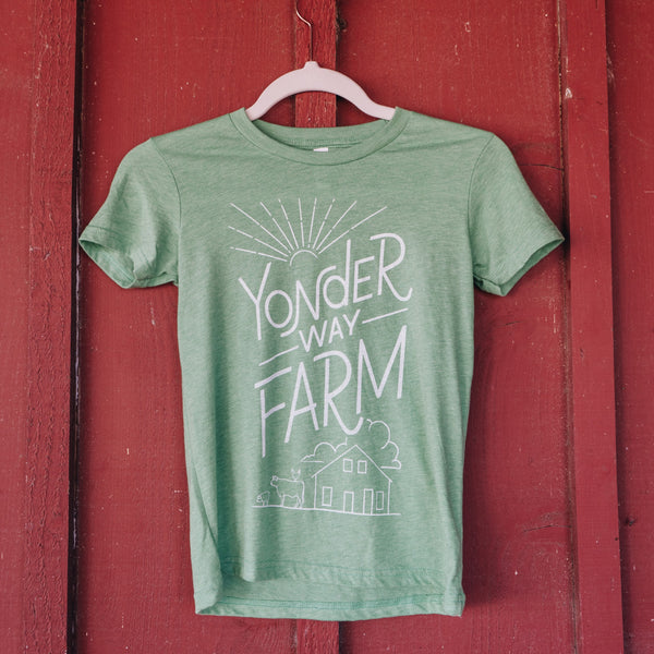 Yonder Way Farm YOUTH Barnyard Shirt