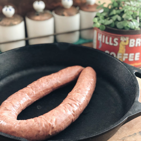 Pastured Pork: Smoked Link Sausage