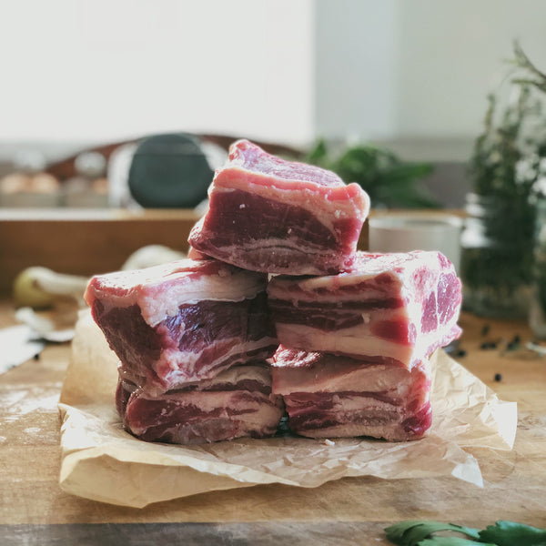 Grass-Fed Beef: Short Ribs