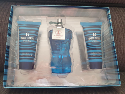 Mens G For Men Ultra - Aftershave Gift Pack
