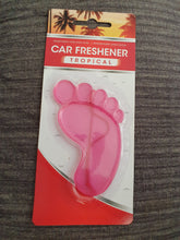 Load image into Gallery viewer, Little Feet - PVC Car Air Fresheners