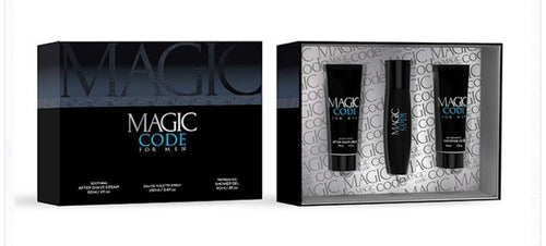 Mens MAGIC CODE Aftershave Gift Pack