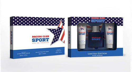 Mens Racing Club Sport Aftershave Gift Pack