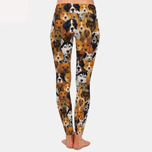 Load image into Gallery viewer, Womens Gorgeous Dogs Printed Leggings