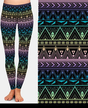 Load image into Gallery viewer, Womens Lovely Aztec Printed Leggings