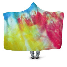 Load image into Gallery viewer, Soft, Cozy, 3D Printed Sherpa Hooded Blankets