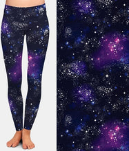 Load image into Gallery viewer, Ladies New 3D Galaxy Digital Printed Leggings