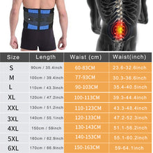 Load image into Gallery viewer, Lumbar Back Brace Support Belt - Lower Back