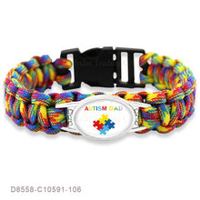 Load image into Gallery viewer, Puzzle Piece Autism Awareness Bracelets