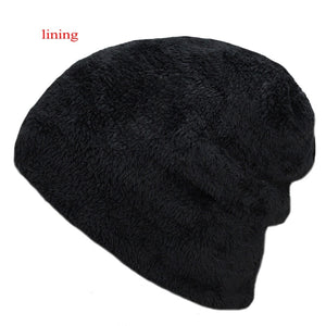 Men's Super Warm Thick Knitted Winter Beanie