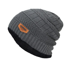 Load image into Gallery viewer, Men's Super Warm Thick Knitted Winter Beanie
