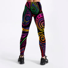 Load image into Gallery viewer, Womens Multi-Coloured Totem Printed Leggings