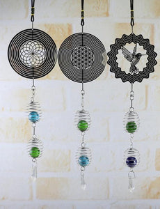 NEW 4-Styles Gorgeous Patterned Wind Chimes