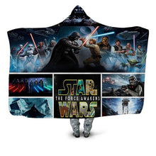 Load image into Gallery viewer, Plush, Cozy & Warm Sherpa Fleece Assorted Hooded Blankets