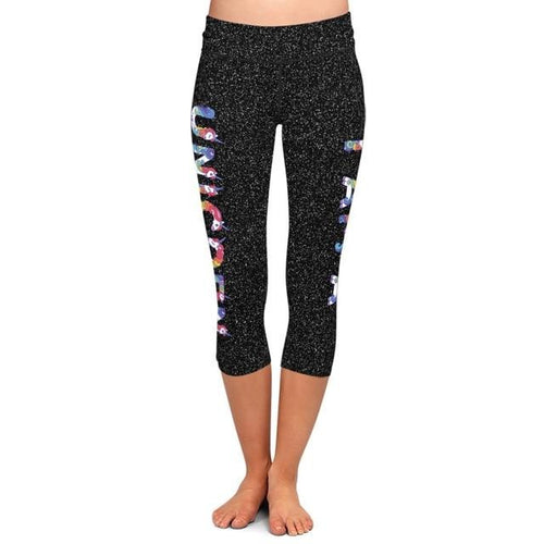 Ladies I AM A UNICORN Soft Brushed Capri Leggings