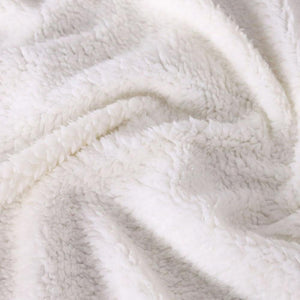 Marble Lux Plush Throw Sherpa Fleece Blankets