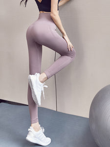 Ladies Seamless Workout High Waisted Gym Compression Leggings