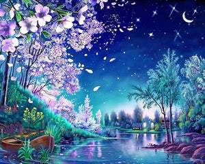 5D DIY Landscapes Diamond Paintings