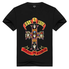 Load image into Gallery viewer, Mens & Womens Guns N' Roses Printed Fashion T-shirts