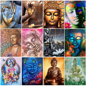 5D DIY Buddha Diamond Paintings