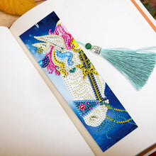 Load image into Gallery viewer, 2PCS/Set DIY Decorative Diamond Painting Bookmarks With Tassel