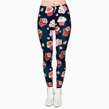 Load image into Gallery viewer, Womens Fashion Printed Leggings - One Size