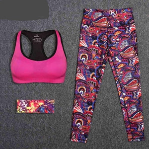 Womens 2-Piece Fitness Workout Set
