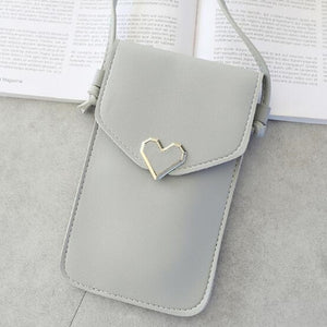 Ladies Transparent Fashion Shoulder Bag/Purse