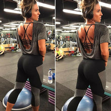 Load image into Gallery viewer, Ladies High Waist Butt Lift Fitness Leggings (2)