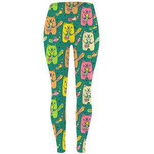 Womens Beautiful Assorted Animal Printed Leggings