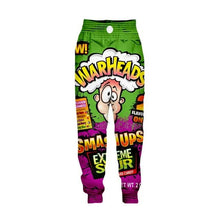 Load image into Gallery viewer, Mens SWEET 3D Candy Snacks & Cereals Novelty Printed Pants