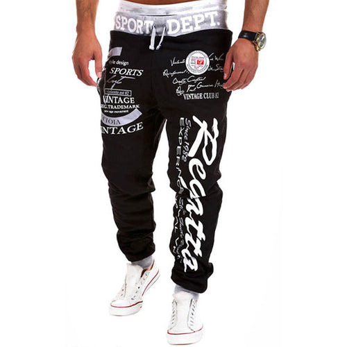 Mens Printed Graphic Sport Trackpants