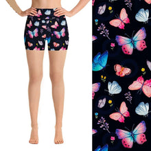 Load image into Gallery viewer, Ladies 3D Butterfly Printed Summer Shorts