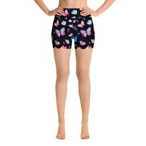 Ladies 3D Butterfly Printed Summer Shorts