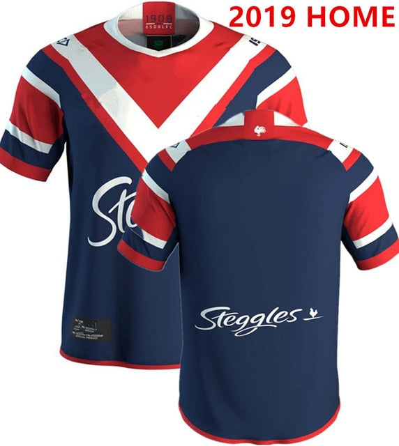 Mens Sydney Roosters Rugby League Replica Jerseys