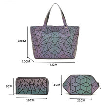 Load image into Gallery viewer, Large Crossbody Bag Fashion Set - Purse and Handbag