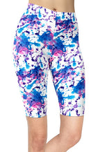 Load image into Gallery viewer, Ladies Assorted Paint Splatter Printed Shorts