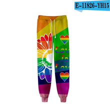 Load image into Gallery viewer, LGBT Rainbow Printed 3D Casual Jogger Harem Pants