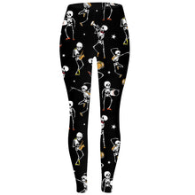 Load image into Gallery viewer, Ladies Assorted Soft Brushed Halloween Leggings
