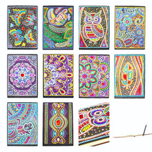 Load image into Gallery viewer, 5D DIY Diamond Painting Notebooks - Assorted Designs