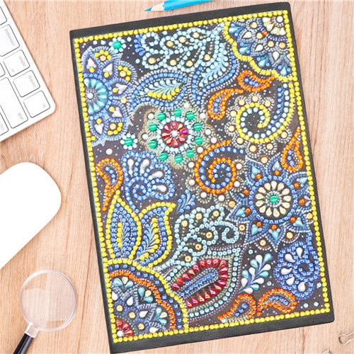 5D DIY Diamond Painting Notebooks - Assorted Designs