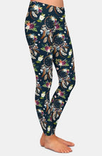 Load image into Gallery viewer, Ladies Gothic Dreamcatcher Soft, Comfy Leggings
