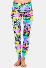 Load image into Gallery viewer, Ladies New Fashion Style Graffiti Printed Leggings