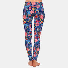 Load image into Gallery viewer, Ladies Beautiful Paisley Floral Style Printed Leggings