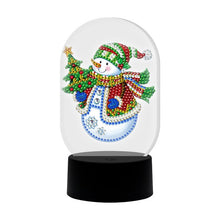 Load image into Gallery viewer, DIY Diamond Painting Christmas & Assorted LED Lights