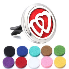 Load image into Gallery viewer, Variety Of Styles Aromatherapy Car Diffusers + 10pcs Pad