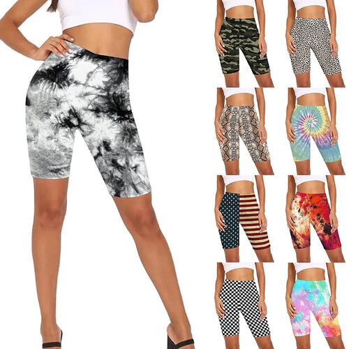 Womens Colourful Assorted Designs Printed Shorts