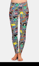 Load image into Gallery viewer, Womens 3D Super Hero Printed Leggings