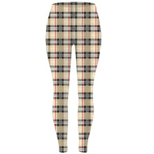 Load image into Gallery viewer, Womens Ultra Soft Checked Printed Leggings