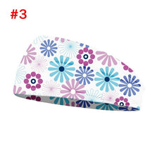 Load image into Gallery viewer, Printed Sports Wide Turban/Headband/Hair Wrap (2)